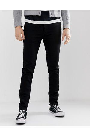 Levi's Levi's – 512 – Svarta slim jeans med avsmalnande ben och låg midja