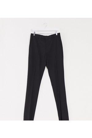 ASOS – Tall – Svarta kostymbyxor i skinny fit