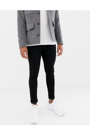 Jack & Jones Intelligence – Liam – Svarta skinny jeans