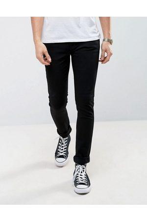 Nudie Jeans Co – Lin – Svarta skinny jeans