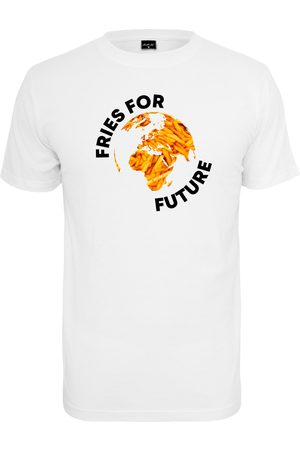 Mister Tee T-shirt 'Fries For Future
