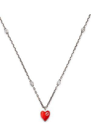 Gucci Halsband med hjärta och logotyp