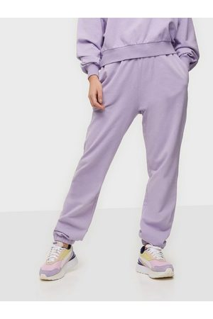 NLY Trend Kvinna Byxor - Washed Out Joggers Byxor