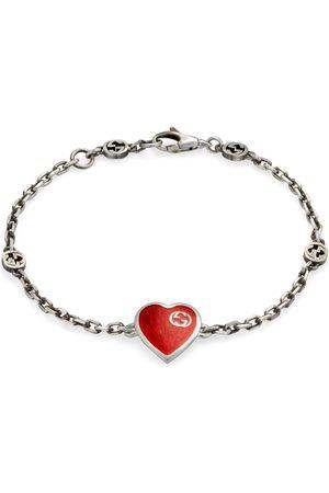 Gucci Heart bracelet with Interlocking G