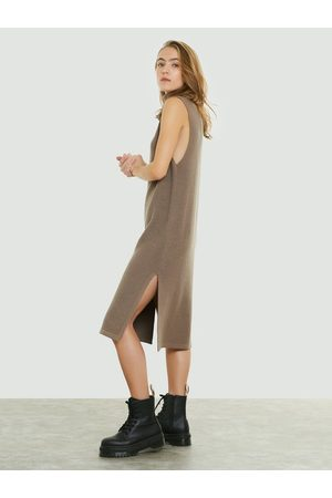 Bik Bok Kvinna Stickade klänningar - Kain knitted dress