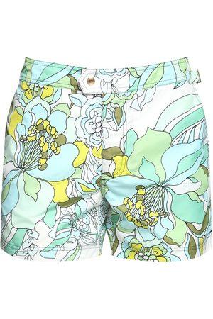 Tom Ford Floral Print Nylon Swim Shorts