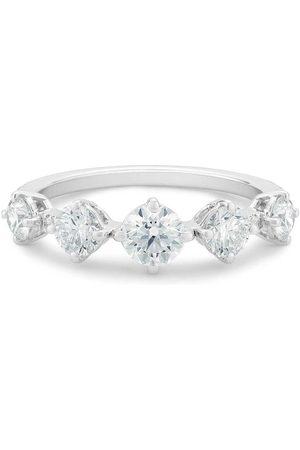 De Beers Kvinna Ringar - Arpeggia diamantring i 18K vitguld