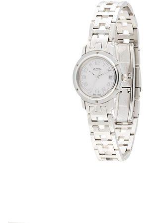 Hermès Kvinna Klockor - Pre-Owned Clipper Date 25 mm klocka