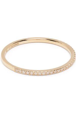 Le Gramme Ringar - 1g diamantring i 18K gult