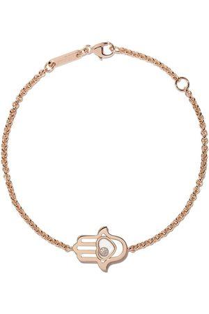 Chopard Kvinna Armband - Diamantarmband i 18 karat roséguld med berlocker
