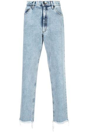 DUOltd Raka jeans med halvhög midja