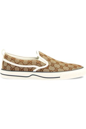 Gucci GG Supreme slip on-sneakers