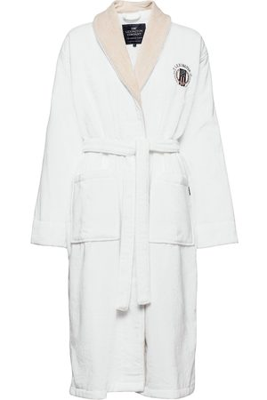 Lexington Man Badrockar - Lexington Cotton Velour Contrast Robe Morgonrock Badrock