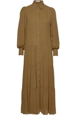 Ivy & Oak Shirt Dress Maxi Maxiklänning Festklänning