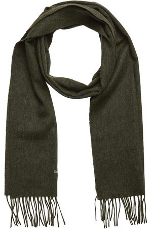 Barbour Plain Lambswool Scarf Scarf Brun