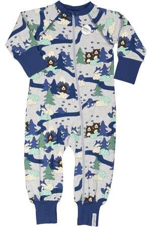 Geggamoja Pyjamas - Bambu pyjamas Grey forest 50/56