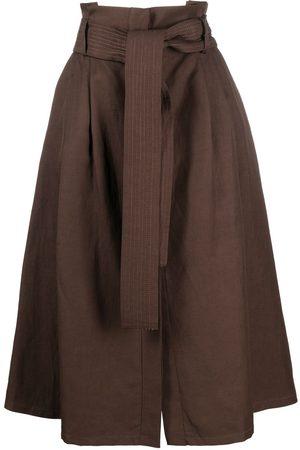 P.a.r.o.s.h. Kvinna Kjolar - Raisa A-linjekjol med bälte