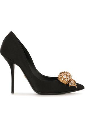 Dolce & Gabbana Kvinna Pumps - Bow-detail satin pumps
