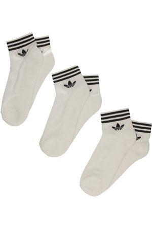 adidas Trefoil Ankle Socks white/black