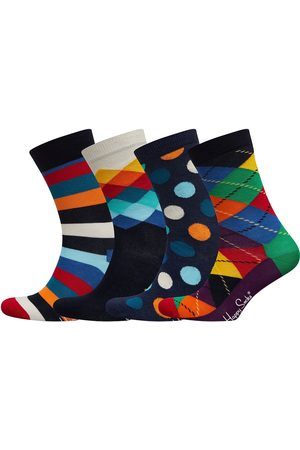 Happy Socks Man Strumpor - 4-Pack Multi-Color Socks Gift Set Underwear Socks Regular Socks Multi/mönstrad