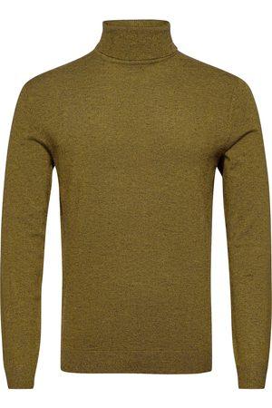 Only & Sons Man Stickade tröjor - Onsmikkel 12 Soft High Neck Knit Noos Knitwear Turtlenecks Grå