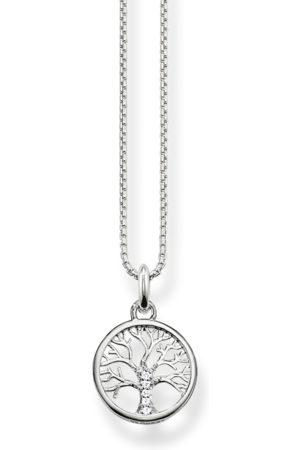 Thomas Sabo Kvinna Halsband - Halsband kärlekens träd silver