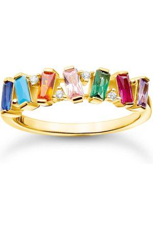 Thomas Sabo Ring stenar i färg guld