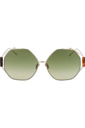 Linda Farrow Kvinna Solglasögon - Sunglasses Lfl1089C3Sun