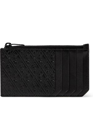 Saint Laurent Man Plånböcker - Monogram-Debossed Leather Cardholder
