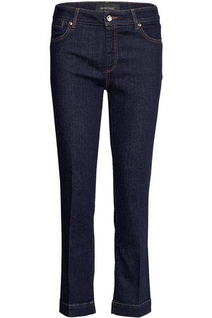 Sportmax Kvinna Slim - Padre Slimmade Jeans Blå