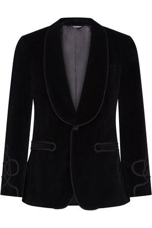 Dolce & Gabbana Enkelknäppt smokingblazer