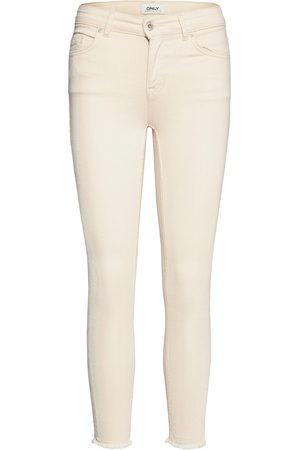 Only Kvinna Skinny - Onlblush Life Mid Sk Ak Rw Dot019 Noos Skinny Jeans