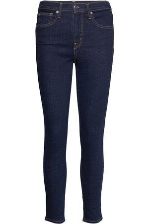 GAP High Rise True Skinny Jeans With Secret Smoothing Pockets Skinny Jeans Blå