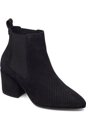 Bianco Kvinna Ankelboots - Biacia Suede Chelsea Boot Wf Shoes Boots Ankle Boots Ankle Boot - Heel