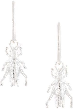 Karen Walker Kvinna Örhängen - Grasshopper Sleepers drop earrings