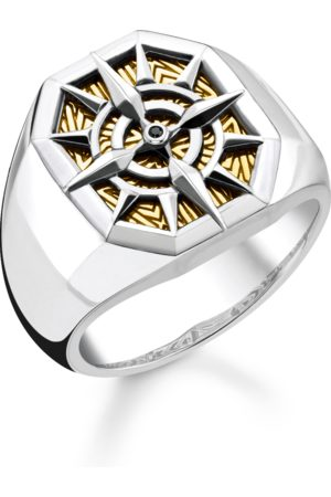 Thomas Sabo Ring kompass guld