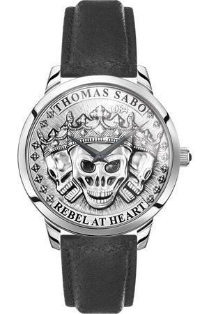 Thomas Sabo Herrklocka Rebel Spirit 3D dödskallar silver