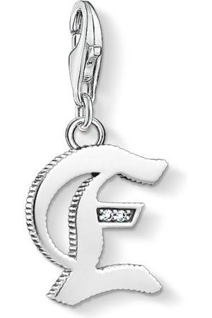 Thomas Sabo Charm-hängsmycke bokstaven E silver