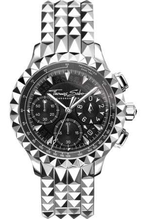 Thomas Sabo Herrklocka Rebel at Heart Chronograph silver