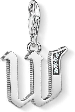 Thomas Sabo Charm-hängsmycke bokstaven W silver