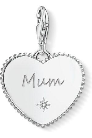 Thomas Sabo Charm-hängsmycke hjärta Mum silver