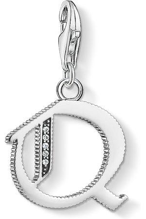 Thomas Sabo Charm-hängsmycke bokstaven Q silver