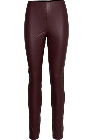 Soaked in Luxury Sl Kaylee Pu Leggings Leather Leggings/Byxor