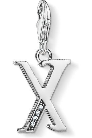 Thomas Sabo Charm-hängsmycke bokstaven X silver