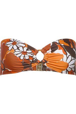 FAITHFULL THE BRAND Kvinna Bikinis - Malady Top Bikinitop Orange