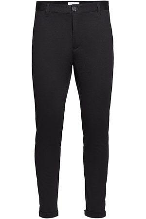 Lindbergh Knitted Cropped Pants Kostymbyxor Formella Byxor Svart