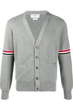 Thom Browne Man Cardigans - 4-Bar cardigan