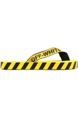OFF-WHITE Man Tofflor - Flipflops med logotypband