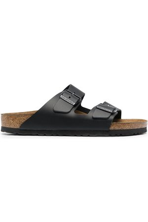 Birkenstock Buckle-fastening leather sandals