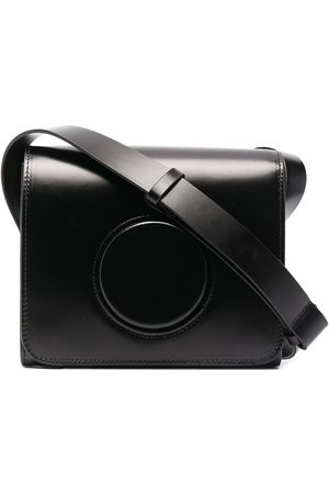 LEMAIRE Camera leather crossbody bag
